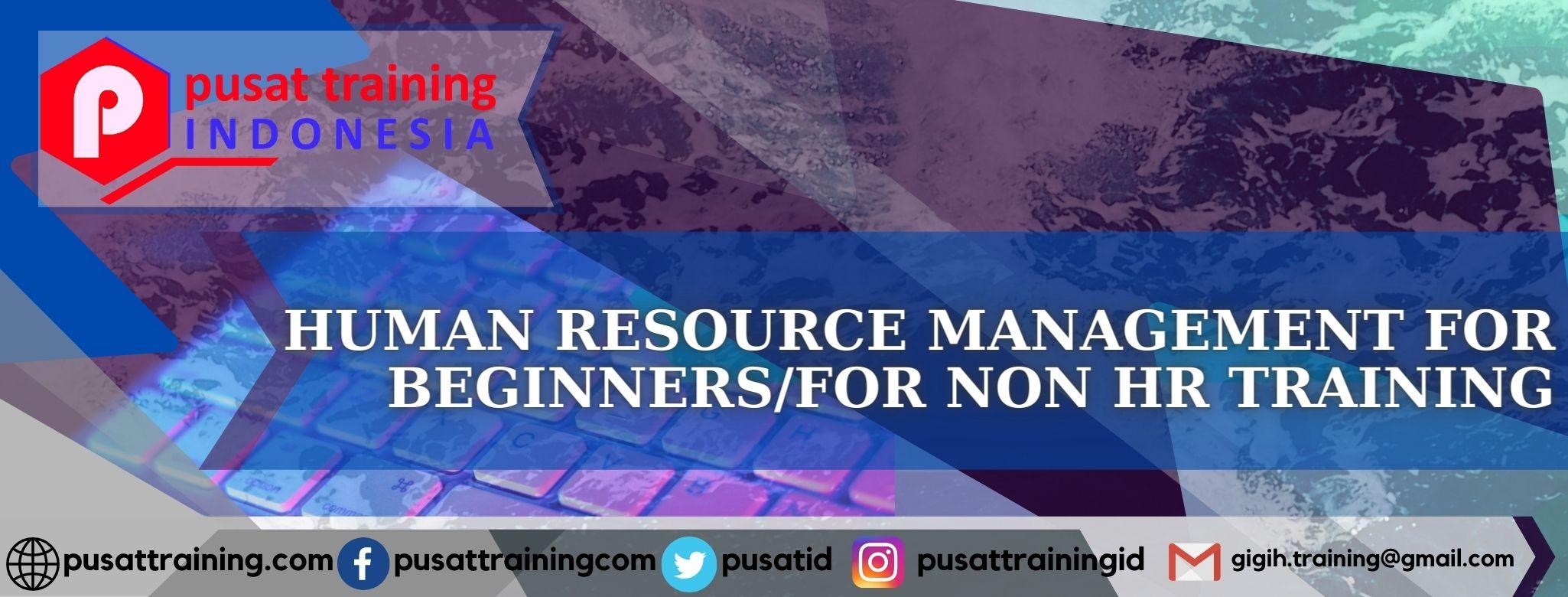 human-resource-management-for-beginnersfor-non-hr