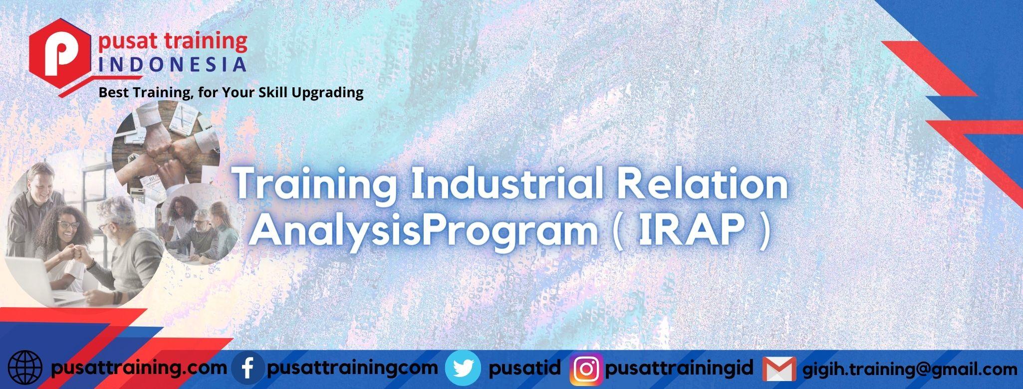 Training-Industrial-Relation-AnalysisProgram-IRAP