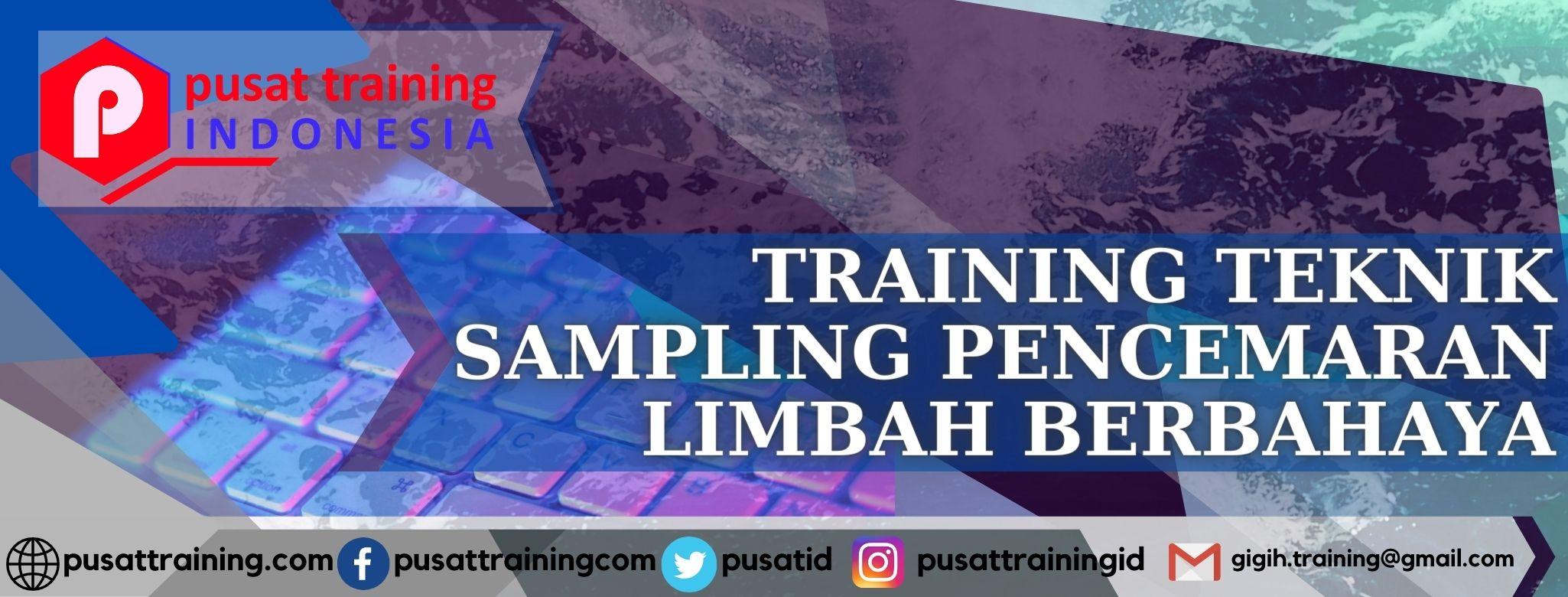 training-teknik-sampling-pencemaran-limbah-berbahaya