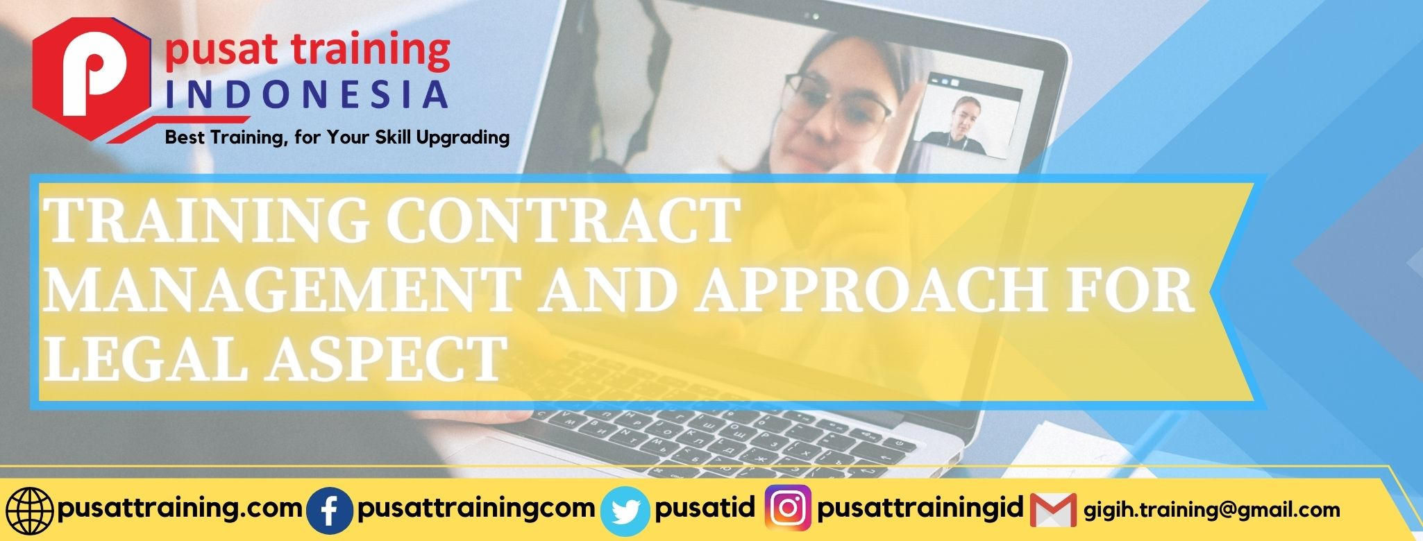 TRAINING CONTRACT MANAGEMENT AND APPROACH FOR LEGAL ASPECT