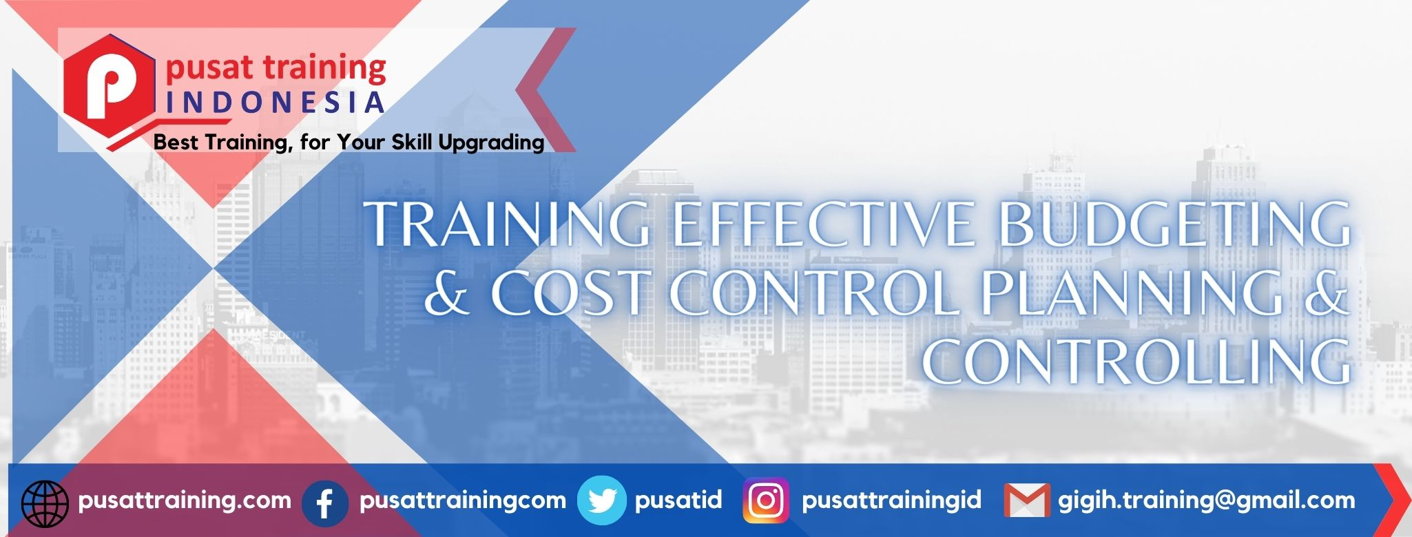 TRAINING EFFECTIVE BUDGETING & COST CONTROL PLANNING & CONTROLLING