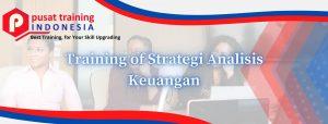 Training of Strategi Analisis Keuangan