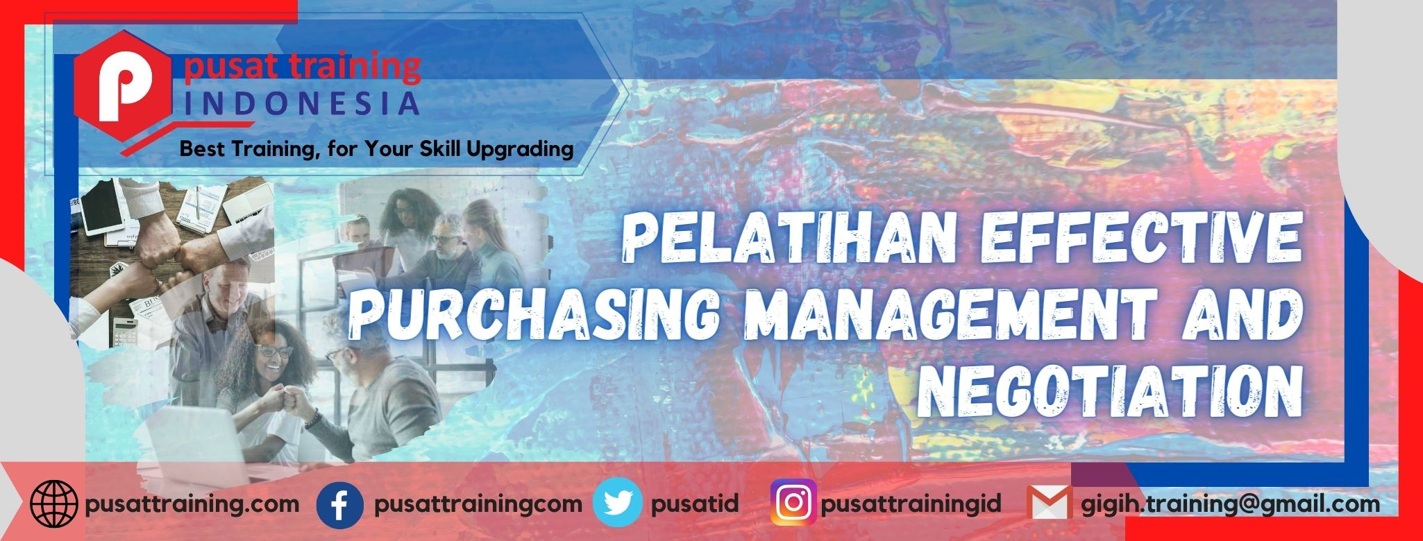 PELATIHAN EFFECTIVE PURCHASING MANAGEMENT AND NEGOTIATION