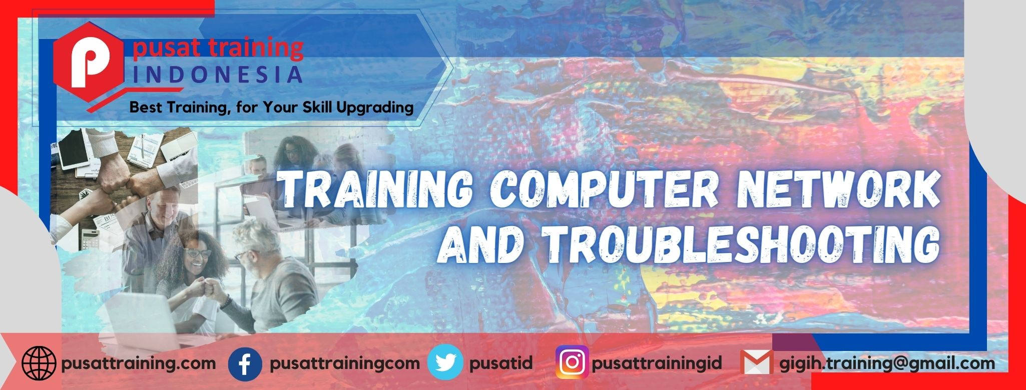 Training Computer Network and Troubleshooting