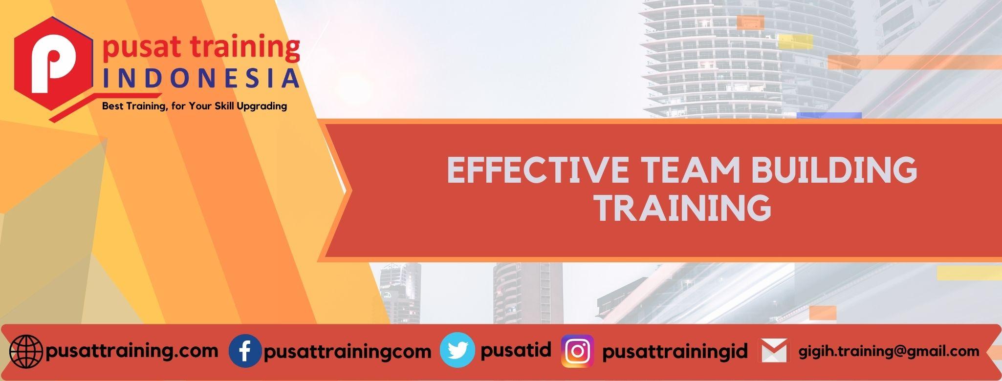 EFFECTIVE TEAM BUILDING TRAINING