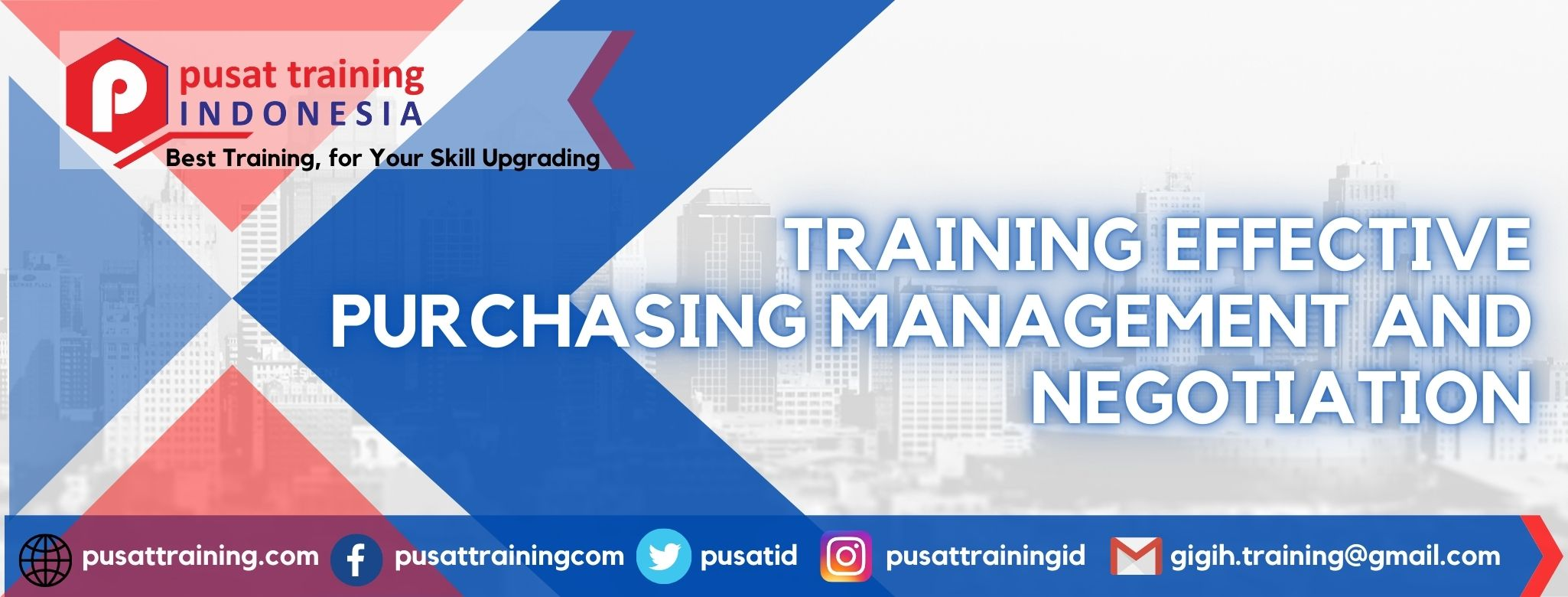 TRAINING EFFECTIVE PURCHASING MANAGEMENT AND NEGOTIATION