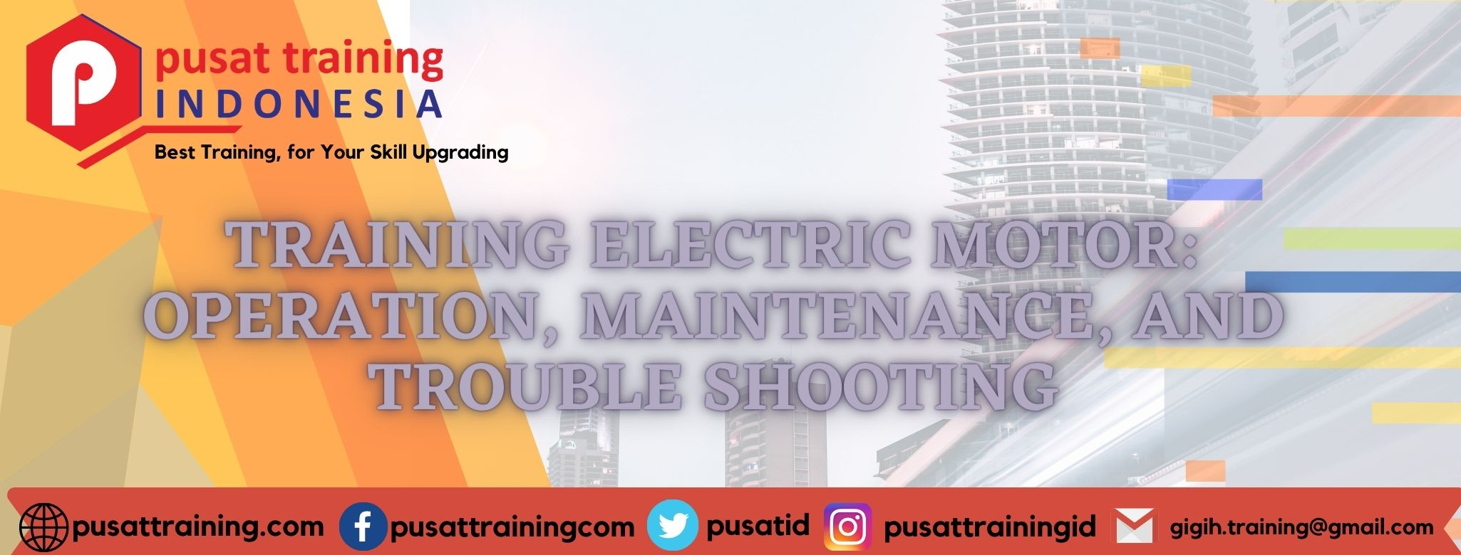 TRAINING ELECTRIC MOTOR OPERATION, MAINTENANCE, AND TROUBLE SHOOTING
