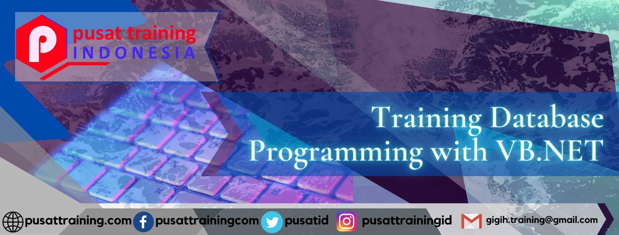 Training Database Programming with VB.NET
