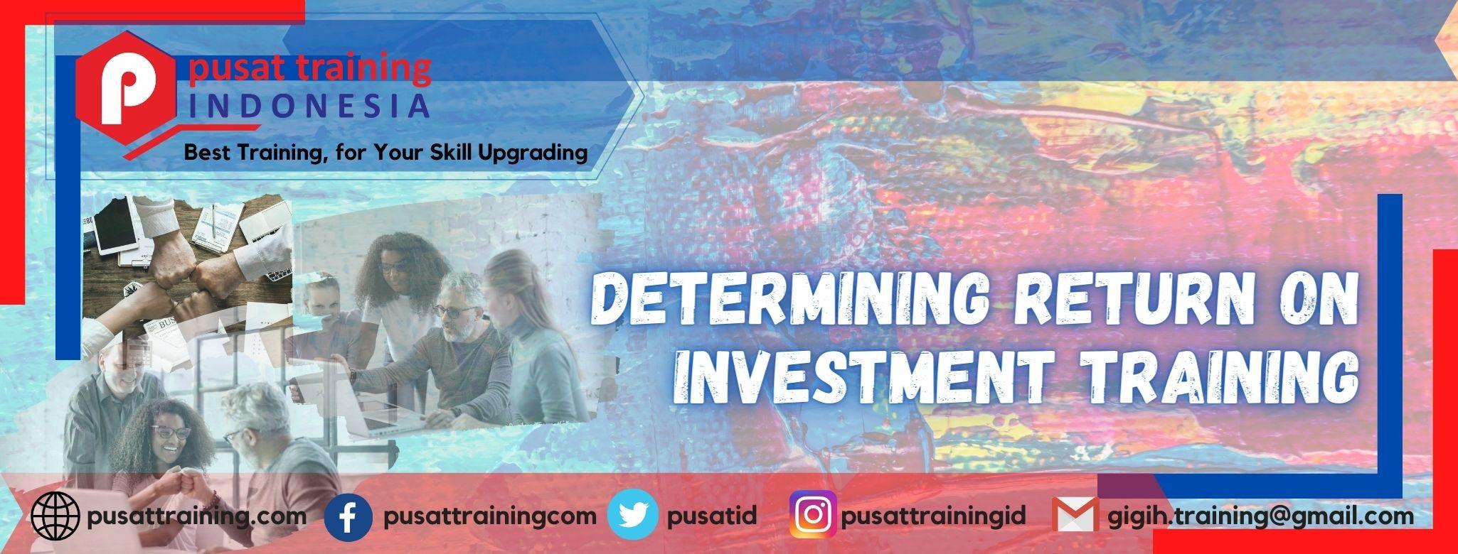 determining-return-on-investment-training