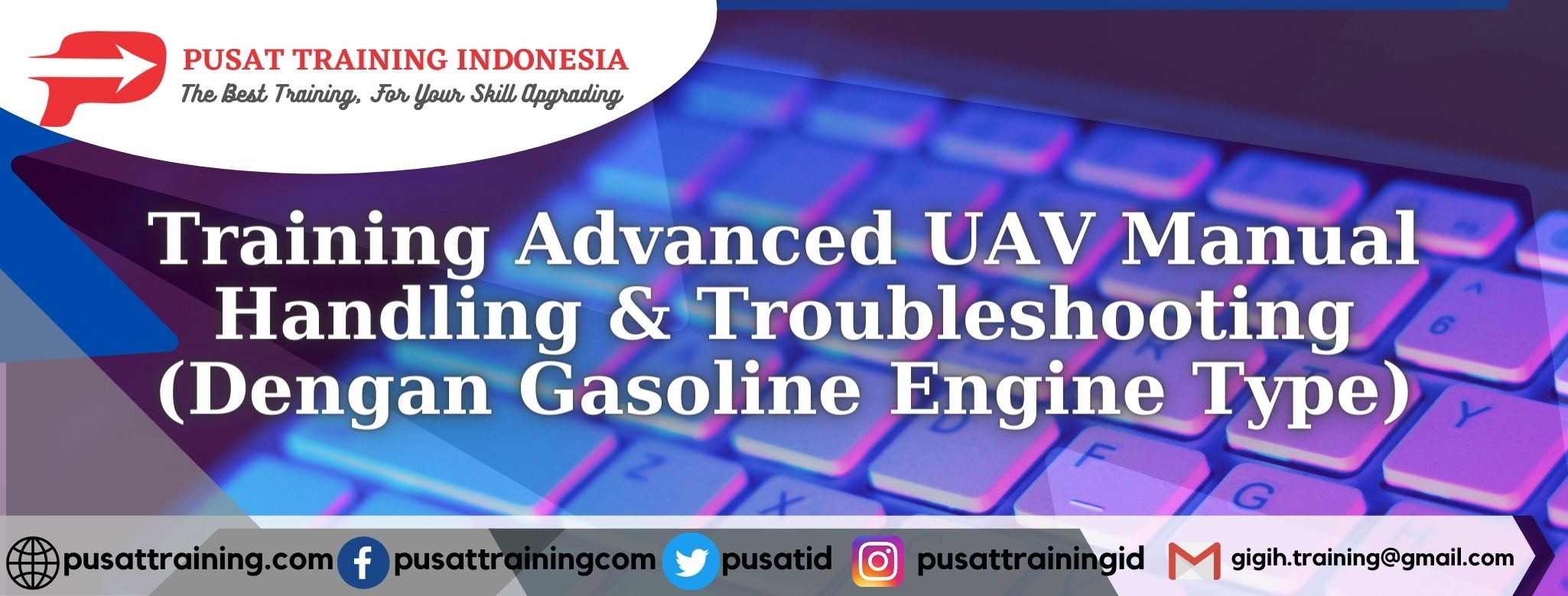 Training-Advanced-UAV-Manual-Handling-Troubleshooting-Dengan-Gasoline-Engine-Type