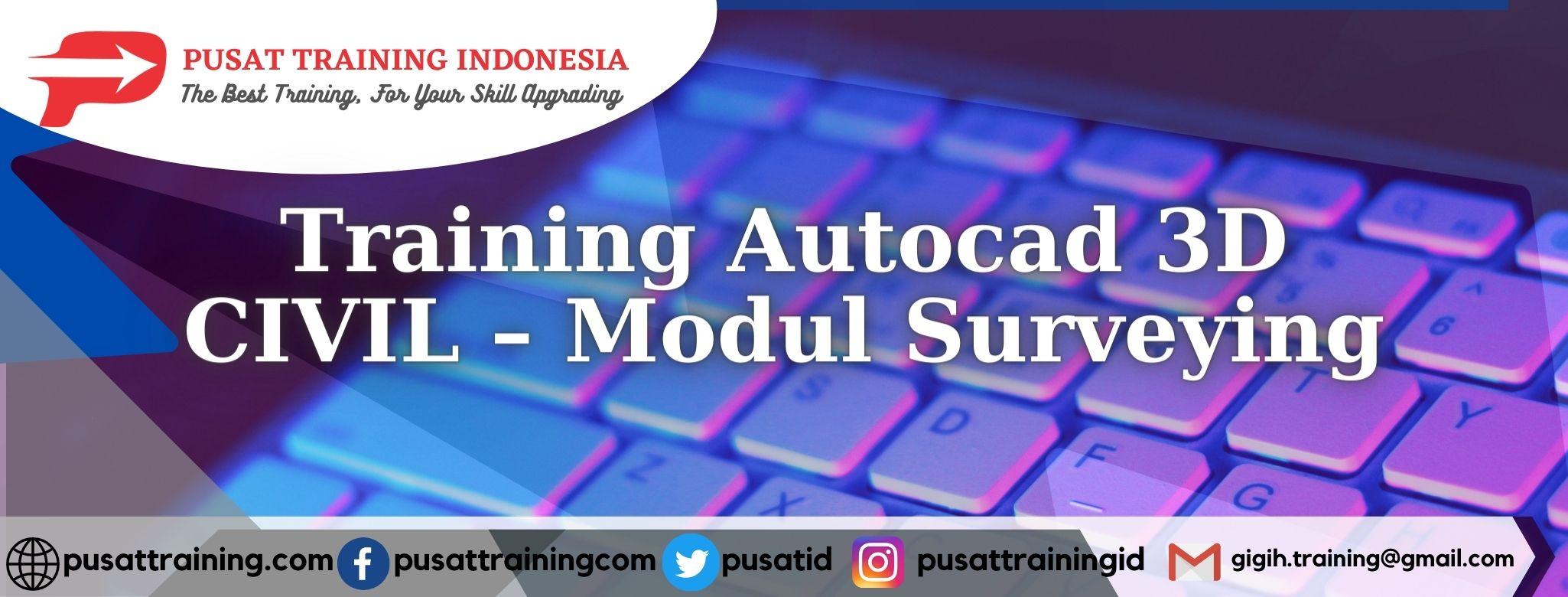 Training-Autocad-3D-CIVIL-Modul-Surveying
